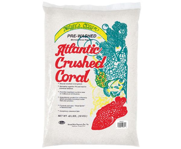 SUBSTRATO NATURES OCEAN ATLANTIC CRUSHED CORAL # 1 - 9KG