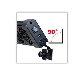 MINI VENTILADOR BOYU FS-603 TRIPLO BIVOLT